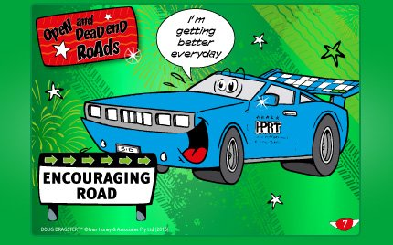 1. Open &Dead End Roads Card Set