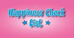 Creating The Happiness Checklist