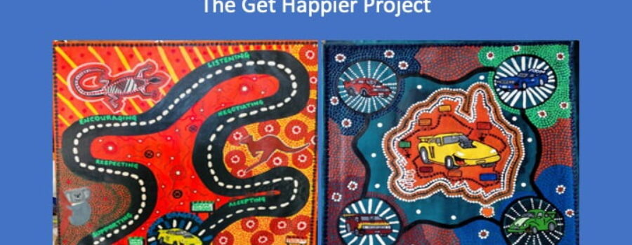 Art inspired by The Get Happier Project