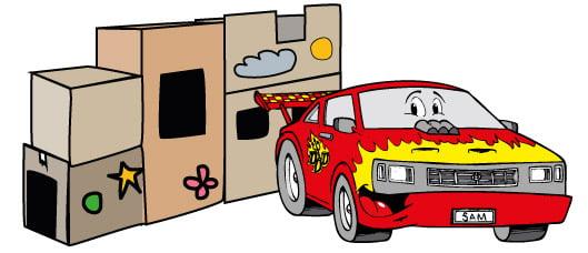 44. Sam's Box Fort