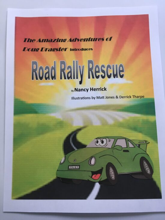 Introducing a sequel Dragster adventure: Road Rally Rescue